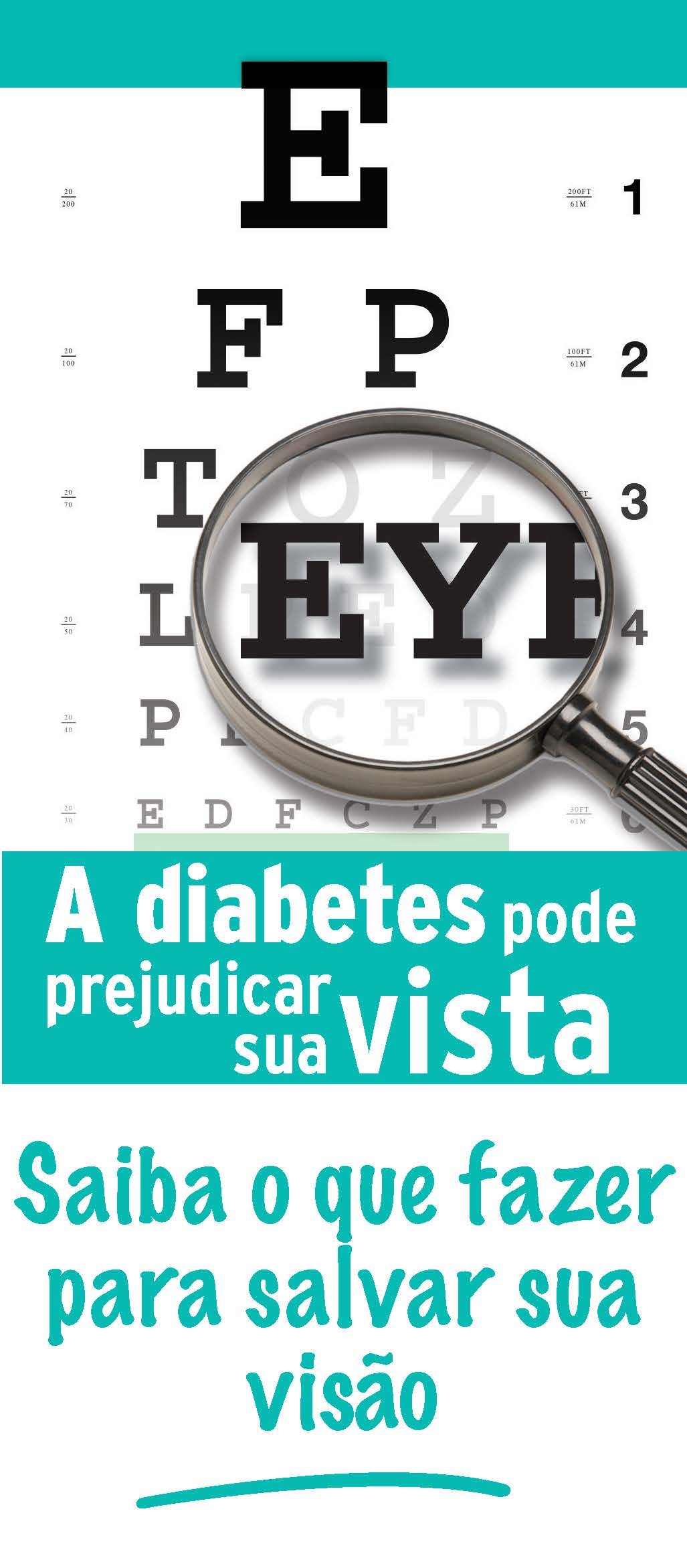 Diabetes Can Harm Your Vision