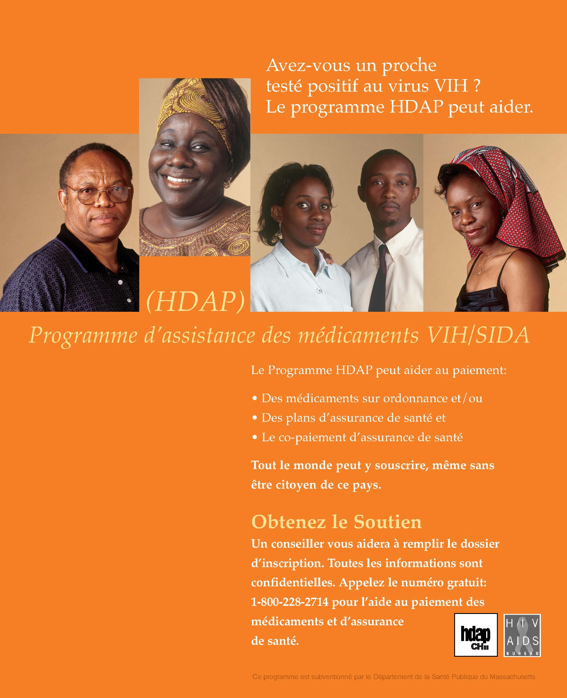 Hiv Drug Assistance Program Hdap Poster