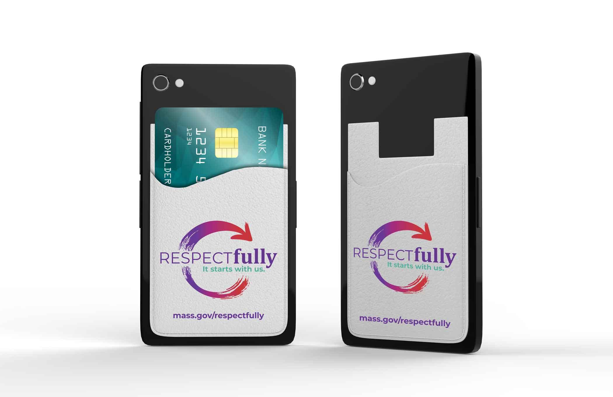 Respectfully Phone Wallet Massachusetts Health Promotion