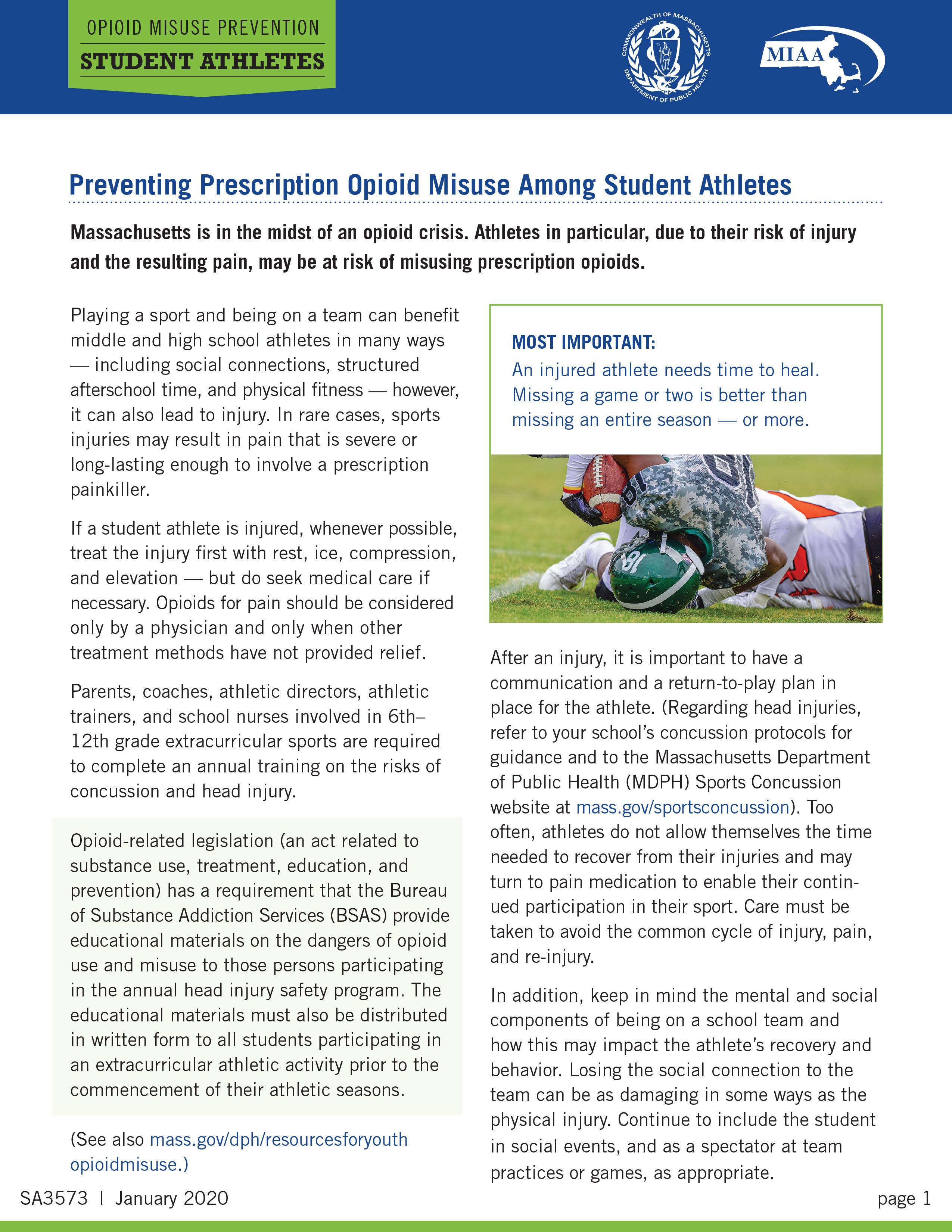 Preventing Prescription Opioid Misuse Among Student