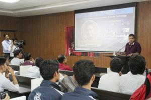 GUEST LECTURE on MOBILE JOURNALISM by NDTV's UMAKANT SINGH