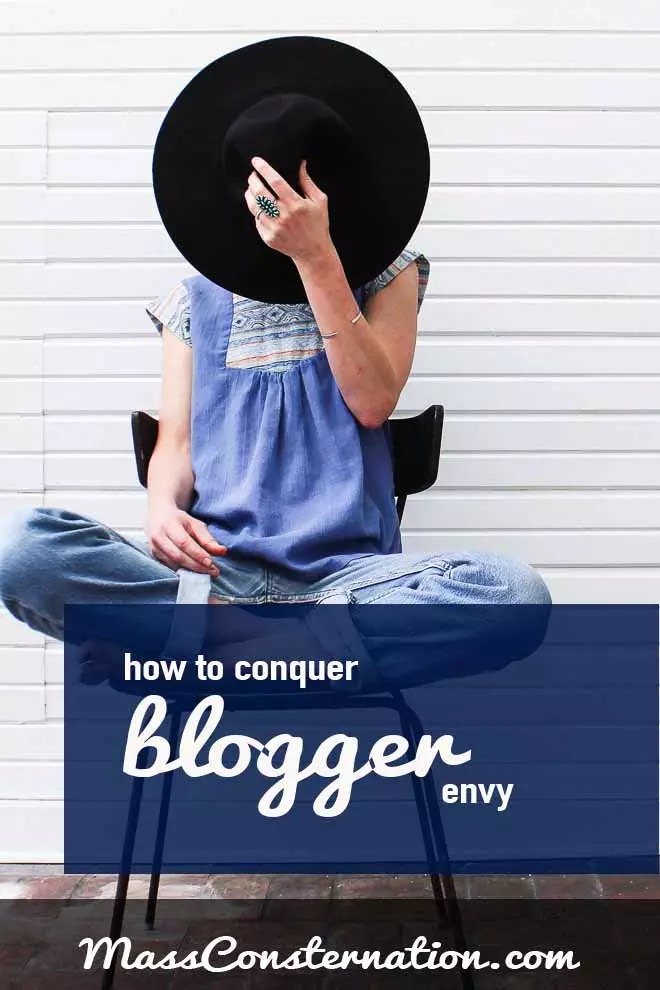With so many talented talented bloggers in the world, it's easy to get blogger envy.