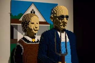Art of the Brick - Lego exhibition by Nathan Sawaya.