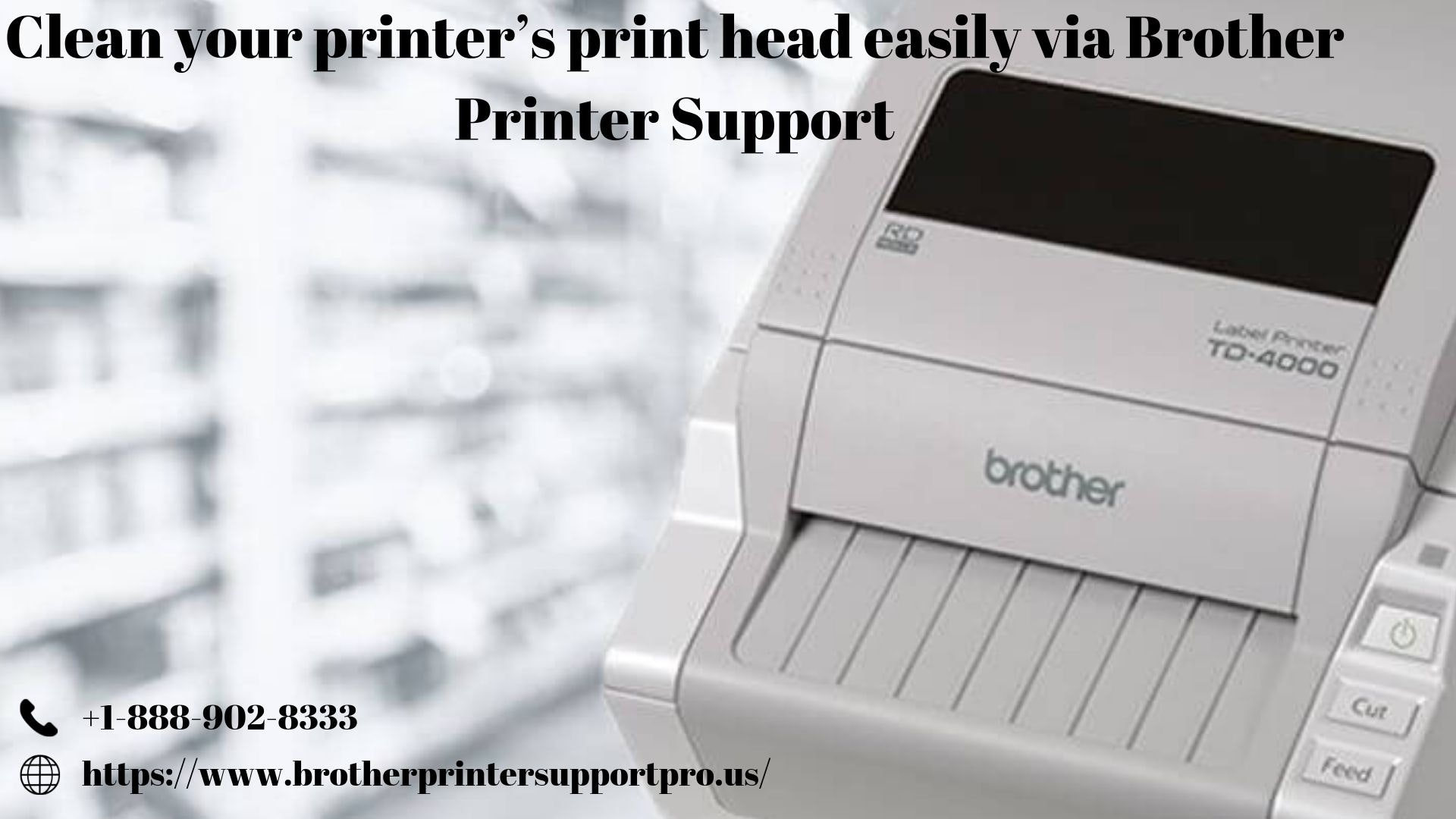 Clean your printer's print head easily via Brother Printer Support