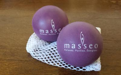 L'automassage, ou 5 trucs pour ne pas perdre la boule avant votre massage chez Masseo!