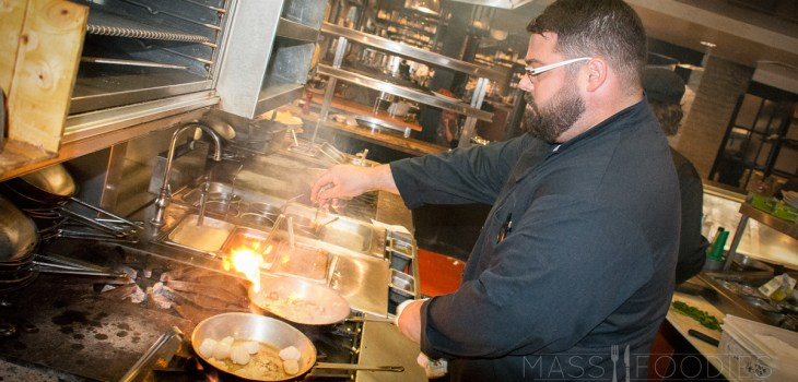 Mark Hawley, corporate executive chef, at for Worcester Restaurant Group (Photograph by Alex Belisle)