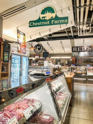 Chestnut Farms located within the Boston Public Market.