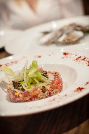 Yellowfin tuna Tartare from Cal Mare Springfield, MA.