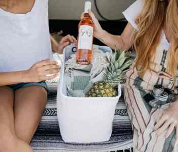 Whether dining in or enjoying the summer weather with BYOB Rosé is the drink you should be choosing. Pictured: 90+ Cellars Lot 33 Languedoc Rosé is the perfect summer sipper.
