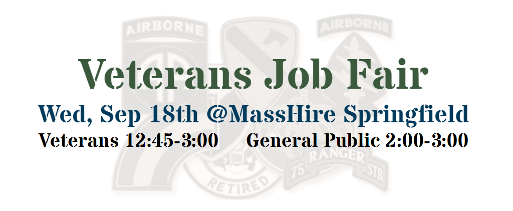 Veterans Job Fair Banner