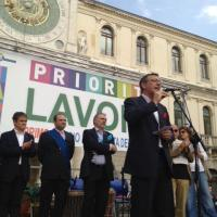 Festa 1° Maggio in Piazza dei Signori a Padova