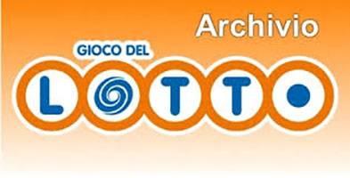 Archivio storico estrazioni del lotto ultime estrazioni