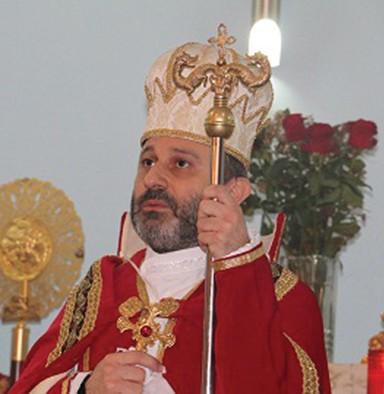 Ծայրագոյն վարդապետի գաւազանի շնորհում` գերպ. հայր Վարդան վրդ. Գազանճեանին