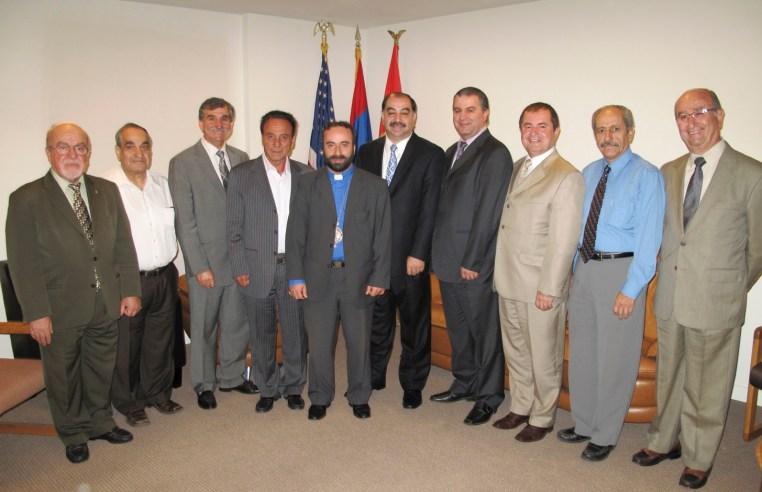 Armash Serpazan Meeting With SD Hunchak Party USA Western Region