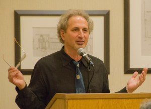 Professor Peter Balakian, master of ceremonies for the 2014 Anahid Literary Award Ceremony