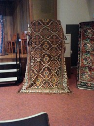 A traditional Armenian rug