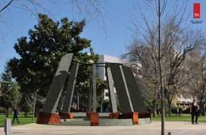 A rending of the proposed Genocide Monument on the campus of Fresno State