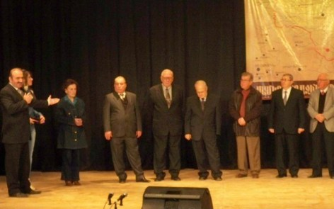Individuals honored for their dedicated service to the SDHP, the Cilicia Armenian School in Aleppo and the entire Armenian community.