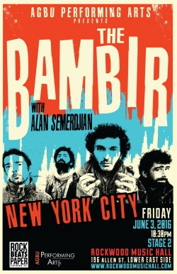 bambir-performance-poster