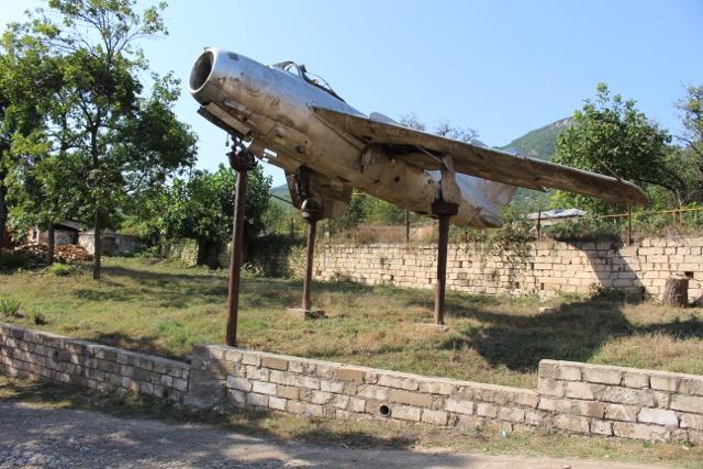 Jet fighter of Air Marshal Armenag Khudiakov
