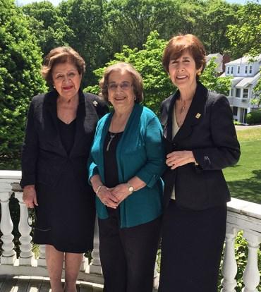 2.Founders of AIWA, from Left to Right – Olga Proudian, Barbara Merguerian, Eva Medzorian