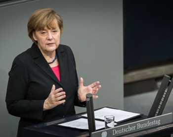 Angela Merkel 'Not distancing herself from Armenian Genocide resolution