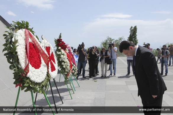Armenia Pays Tribute to the Memory of Pontian Greek Genocide Victims