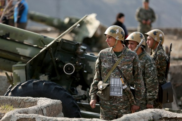 Armenian Rocket and Artillery Troops Celebrate 25th Anniversary of Establishment