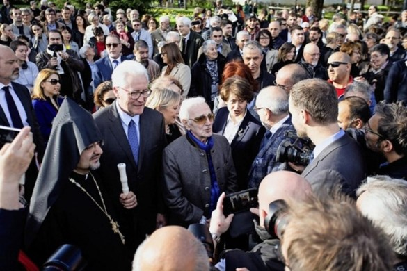 Armenian Genocide Memorial Unveiled in Geneva