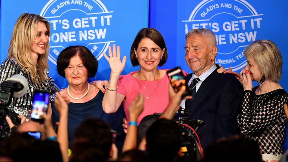 Gladys Berejiklian Becomes First Woman Elected Premier of