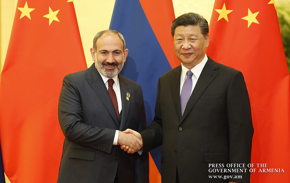 Image result for China in Armenia