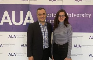 Sevag and Jackie Ajemian Provide Scholarship and Employment Opportunities to AUA Students