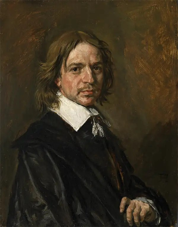 Franz Hals, Portrait of a Man, one of a series of Old Master works sold by a French dealer that authorities now believe may be forgeries.