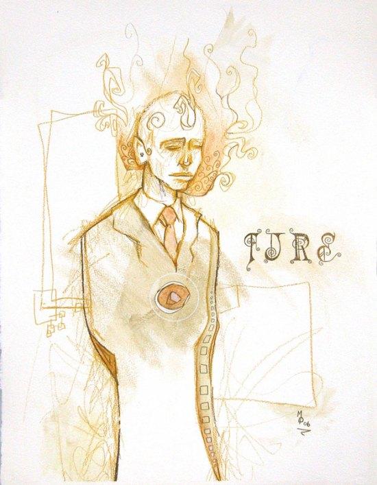 FIRE | Original Art by Miles Davis | Massive Burn Studios