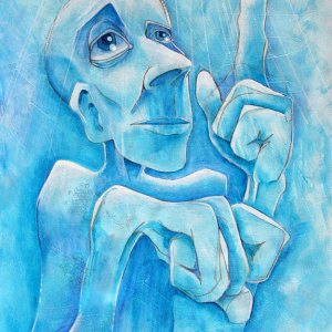 It Came from Above | Original Art by Miles Davis | Massive Burn Studios