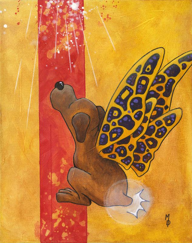 Butterpup #2   Original Art by Miles Davis   Massive Burn Studios