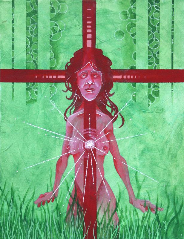 Woman's Intuition | Original Art by Miles Davis | Massive Burn Studios