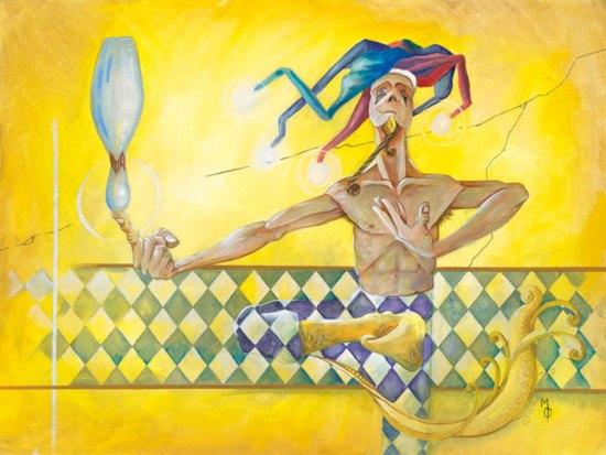 The Showoff   Original Art by Miles Davis   Massive Burn Studios
