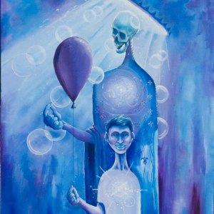 He Shall Be Damien | Original Art by Miles Davis | Massive Burn Studios