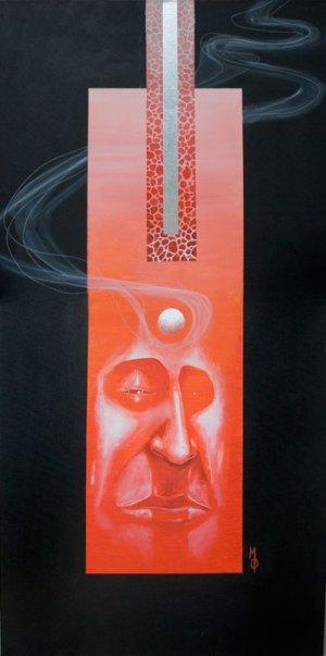 Lava | Original Art by Miles Davis | Massive Burn Studios