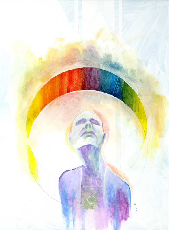 Aura | Original Art by Miles Davis | Massive Burn Studios