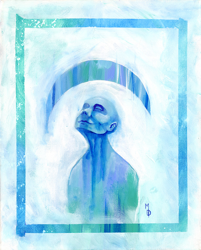 Serenity   Original Art by Miles Davis   Massive Burn Studios