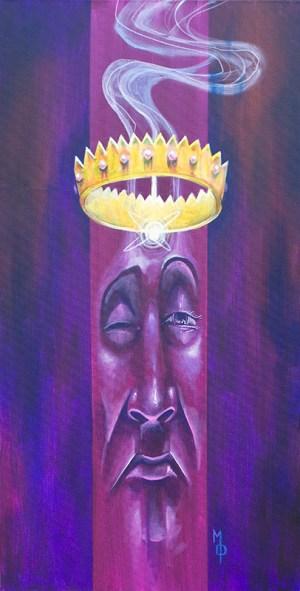 The King in I | Original Art by Miles Davis | Massive Burn Studios