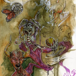 Burden of Spirituality | Original Art by Miles Davis | Massive Burn Studios
