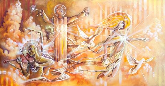 Serenading the Crossover | Original Art by Miles Davis | Massive Burn Studios