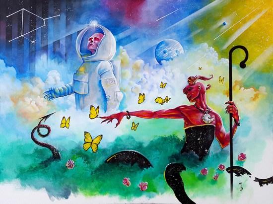 Evolutionary | Original Art by Miles Davis | Massive Burn Studios