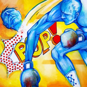 POP! | Original Art by Miles Davis | Massive Burn Studios