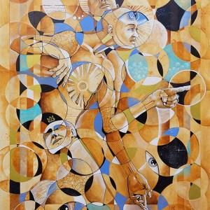 Trio   Original Art by Miles Davis   Massive Burn Studios