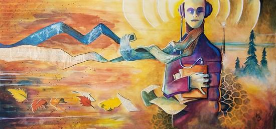 Audio File   Original Art by Miles Davis   Massive Burn Studios