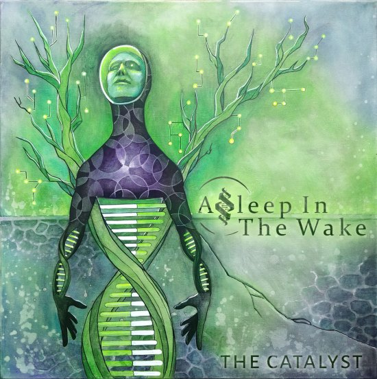 Asleep in the Wake - The Catalyst | Album Art designed by Massive Burn Studios